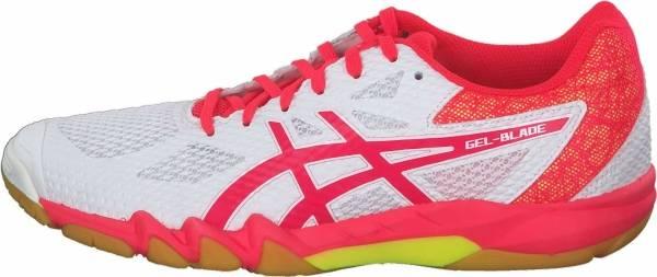 asics handballschuhe gel-blade 6 damen orange