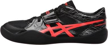 Asics Throw Pro - Black/Flash Coral (G605Y9006)