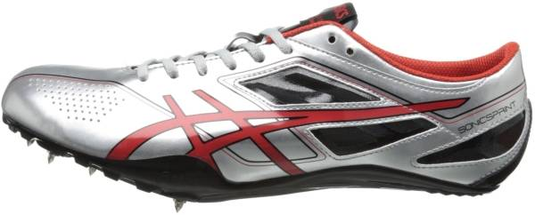 Asics SonicSprint - Silver/Fire Red/Black (G403Y9321)
