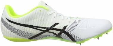 Asics Hypersprint 6 - White Black Safety Yellow