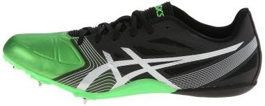 Asics Hypersprint 6 - Onyx Silver Flash Green