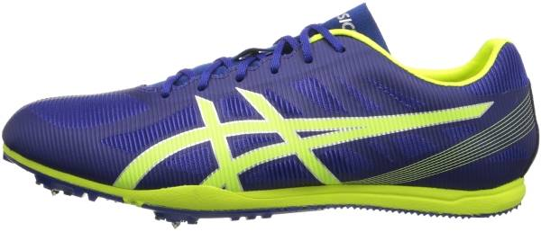 Asics Heat Chaser - Deep Blue Flash Yellow