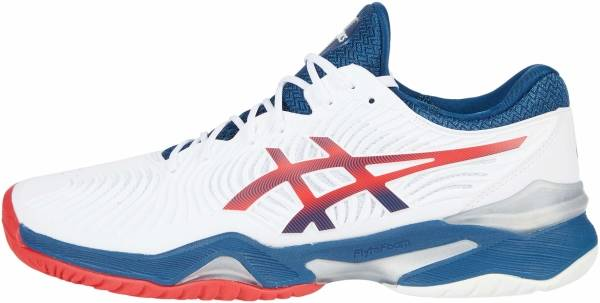 Asics Court FF 2 - White / Mako Blue (1041A083102)