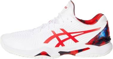 Asics Court FF 2 - White / Classic Red (1041A202110)