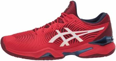 Asics Court FF 2 - Classic Red Blanco (1041A083600)