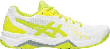 Asics Gel Challenger 12 - White/Safety Yellow