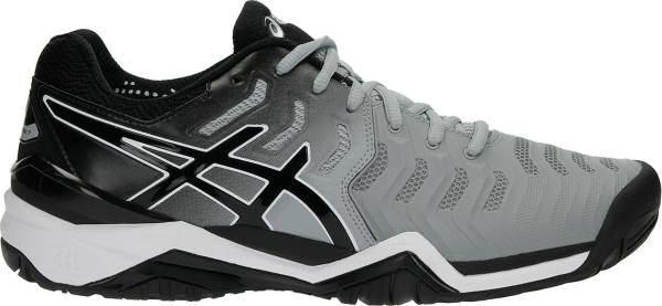 asics men's gel-resolution 7 tennis shoe zone