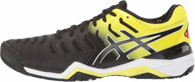 Asics Gel Resolution 7 - Black/Sour Yuzu