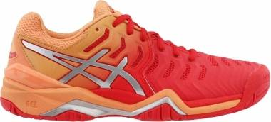 Asics Gel Resolution 7 - Red Alert Silver