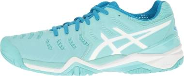Asics Gel Resolution 7 - Aqua Splash White Diva Blue