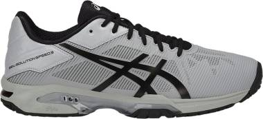 Asics Gel Solution Speed 3 - Gris Mid Gr E Y Black 9690 (E600N9690)