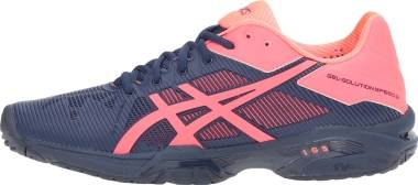 Asics Gel Solution Speed 3 - Indigo Blue / Diva Pink