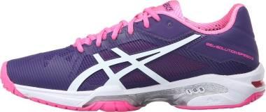 Asics Gel Solution Speed 3 - Multicolor Parachute Purple White Hot Pink