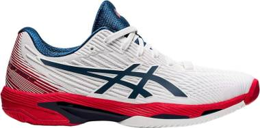 Asics Solution Speed FF - White Mako Blue (1041A182101)