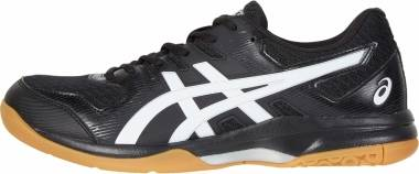 Asics Gel Rocket 9 - Black White