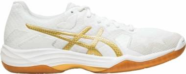 Asics Gel Tactic - White Rich Gold (1072A035100)