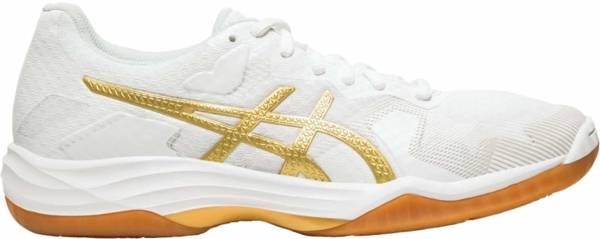 Asics Gel Tactic - White Rich Gold