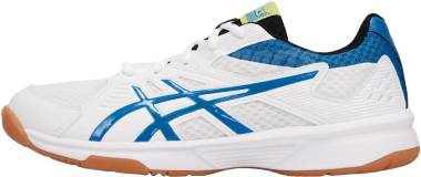 Asics Upcourt 3 - WHITE/ELECTRIC BLUE (1071A019104)