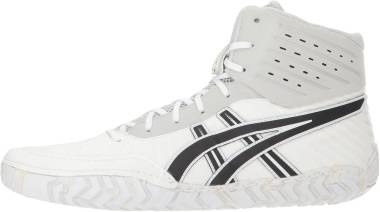 Asics Aggressor 4 - White Black