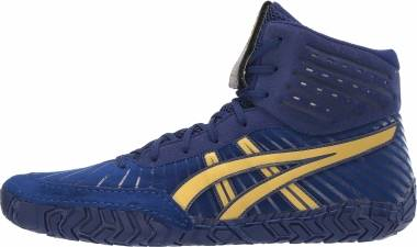 Asics Aggressor 4 - Dive Blue/Rich Gold