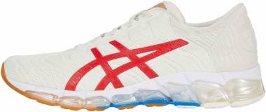 Asics Gel Quantum 360 5 - Cream/Classic Red (1021A291100)