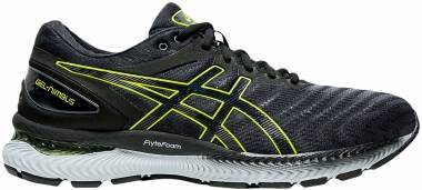 Asics Gel Nimbus 22 - CARRIER GREY/LIME Z (1011A680026)
