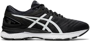Asics Gel Nimbus 22 - Black/White (1011A680005)