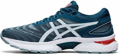 Asics Gel Nimbus 22 - Light Steel / Magnetic Blue (1011A680404)