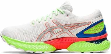 Asics Gel Nimbus 22 - White/Sunrise Red (1011A890100)