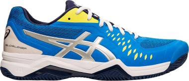 Asics Gel Challenger 12 Clay - ELECTRIC BLUE/SILVER (1041A048400)