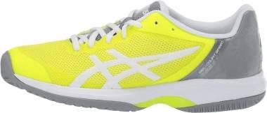Asics Gel Court Speed - SAFETY YELLOW/WHITE (E850N750)