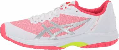 Asics Gel Court Speed - White/Laser Pink (E850N110)
