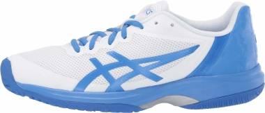 Asics Gel Court Speed - White Blue Coast