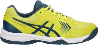Asics Gel Dedicate 5 - Yellow (Sulphur Spring/Ink Blue/Silver 8945) (E707Y8945)