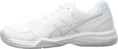 Asics Gel Dedicate 5 - White/silver (E757Y0193)