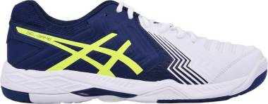 Asics Gel Game 6 - Blanco White Indigo Blue Safety Yellow (E705Y0149)