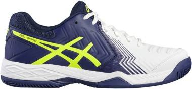 Asics Gel Game 6 - Multicolore White Indigo Blue Safety Yellow