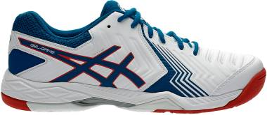 Asics Gel Game 6 - White White Racer Blue 100 (E705Y100)
