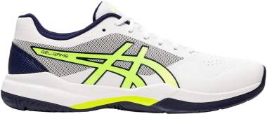 Asics Gel Game 7 - White Safety Yellow (1041A042106)