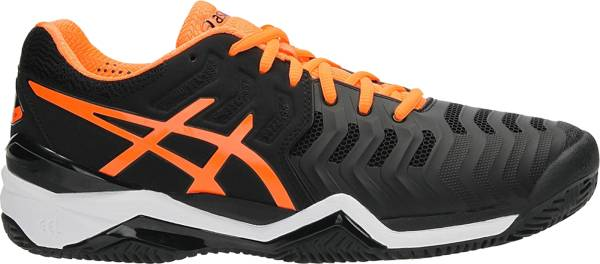 Asics Gel Resolution 7 Clay - Schwarz Black Shocking Orange White (E702Y9030)