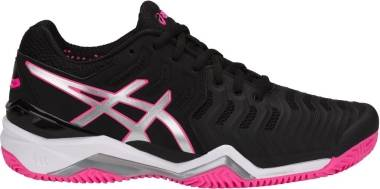 Asics Gel Resolution 7 Clay - Multicolor Blacksilverhot Pink (E752Y9093)
