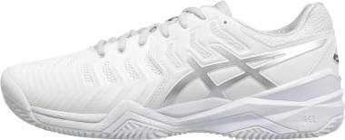 Asics Gel Resolution 7 Clay - White