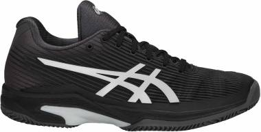 Asics Solution Speed FF Clay - Noir Argent (1042A003001)