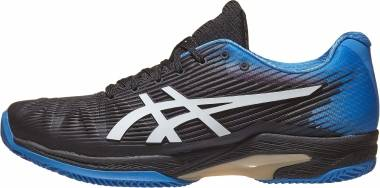 Asics Solution Speed FF Clay - Noir Bleu Ãlectrique (1041A004012)