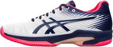 Asics Solution Speed FF Clay - blanc/violet nuit (1042A003102)