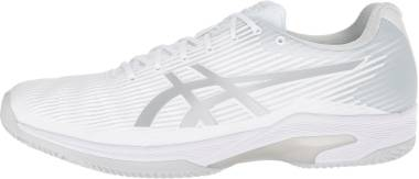 Asics Solution Speed FF Clay - White Silver