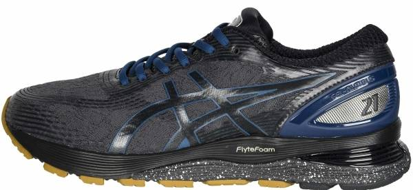 Asics Gel Nimbus 21 Winterized - GRAPHITE GREY/BLACK
