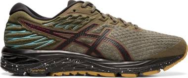 Asics Gel Cumulus 21 Winterized - OLIVE CANVAS/BLACK (1011A635300)