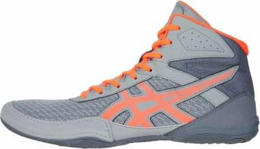 Asics Matflex 6 - Stone Grey/Flash Coral