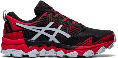 Asics Gel FujiTrabuco 8 - Classic Red Piedmont Grey (1011A668600)